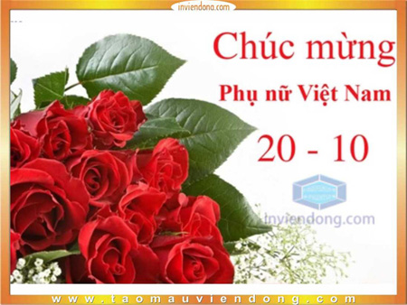 In Thiếp 20-10 lấy ngay tại Hà Nội | Bảng Bảng báo giá In nhanh, In lấy ngay, in test mẫu màu ofset  | In Nhanh ; In Lay Ngay ; In Vo hop ; In Name Card ; In tui nilon ; in thiep