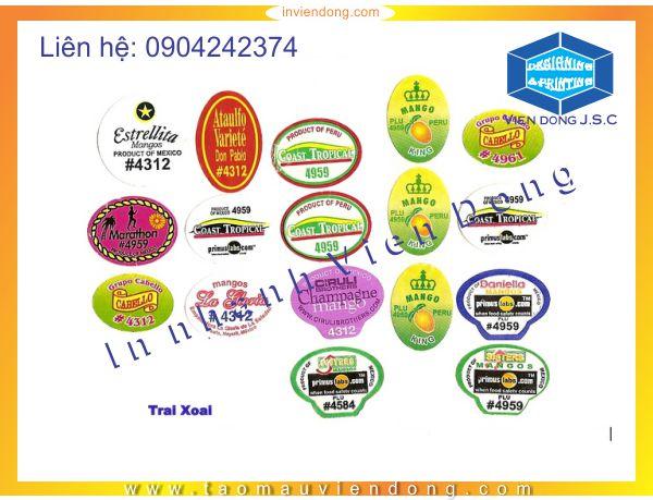 In decal dán hoa quả nhanh, giá rẻ nhất Hà Nội | Cup pha lê mới nhất 2015 | In Nhanh | In Lay Ngay