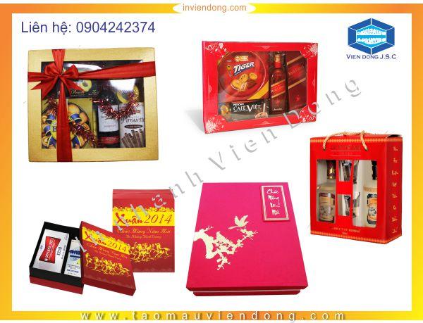 Mẫu hộp quà tết  | In bao lì xì nhỏ giá rẻ tại Hà Nội | In Nhanh | In Lay Ngay