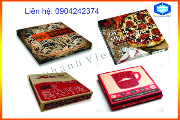 Làm hộp pizza giá rẻ | In Nhanh ; In Lay Ngay ; In Vo hop ; In Name Card ; In tui nilon ; in thiep