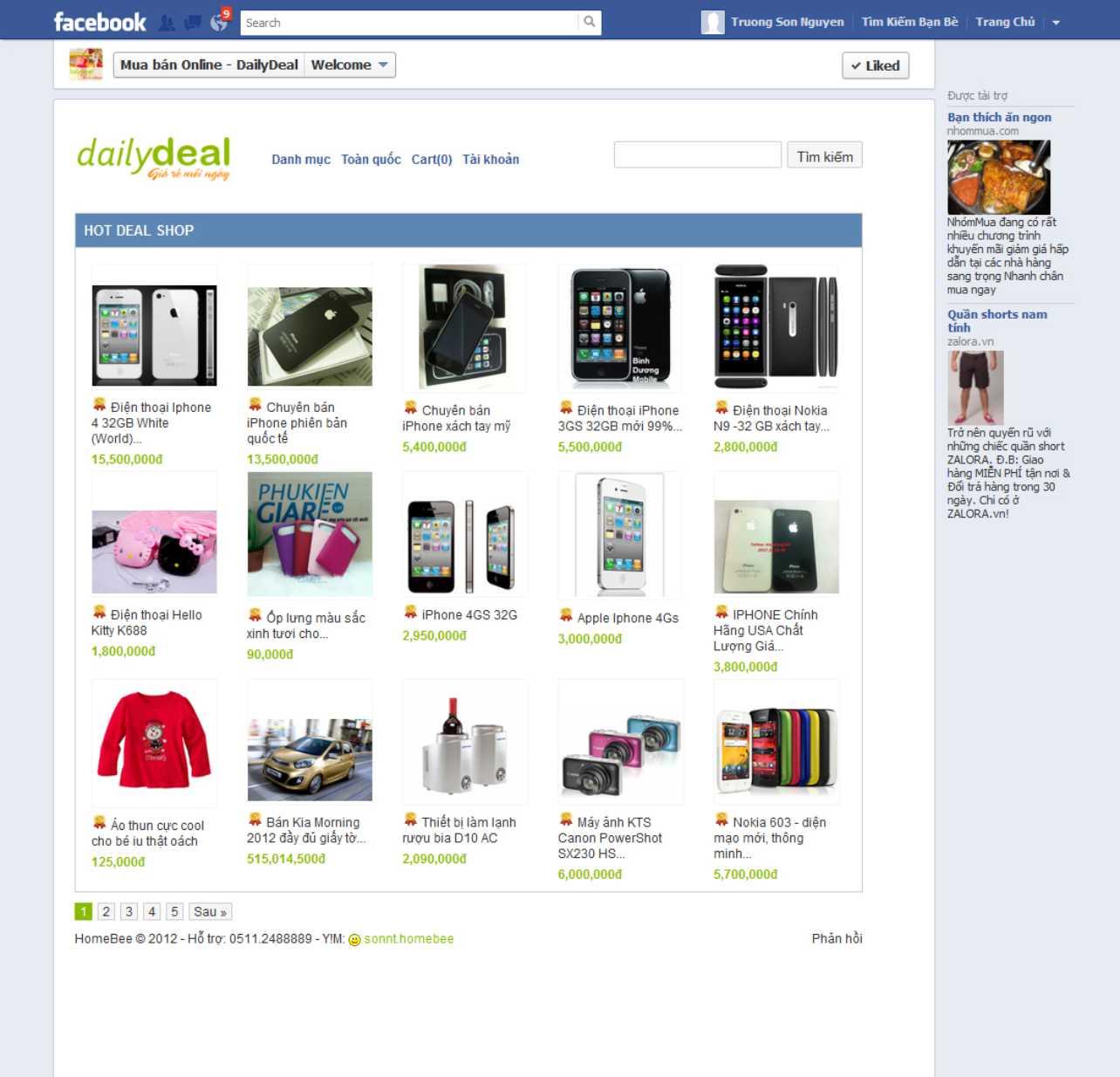 Cách Lập Shop Facebook | Cach Lap Shop Facebook | In Vien dong