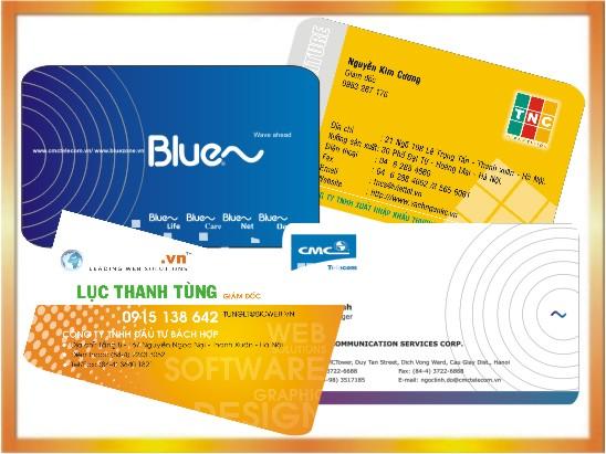 In Card Visit offset lấy nhanh sau 05 phút tại Hà Nội - ĐT: 0904242374
